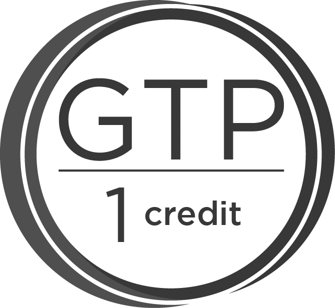 1 GTP credit offered