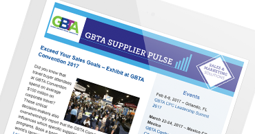 GBTA Supplier Pulse